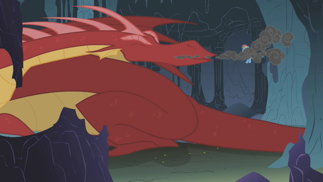 File:Dragon sneezes in Rainbow's face S1E07.png