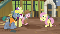 "Fluttershy ""my vision isn't the problem here!"" S7E5"