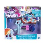 MLP The Movie Land & Sea Fashion Styles Rainbow Dash packaging