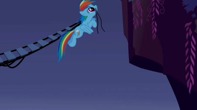 File:Rainbow Dash connecting the bridge S1E02.png