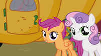 Scootaloo 'As member of the Cutie Mark Crusaders' S3E4