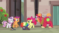 "Apple Bloom ""this is so excitin'!"" S7E8"