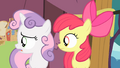 Apple Bloom and Sweetie Belle sees Scootaloo S4E05.png