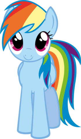 File:FANMADE Rainbow dash by timeimpact.png