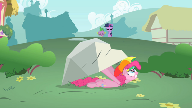 File:Pinkie Pie hiding under a boulder S1E15.png