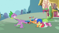 Spike tries to take the scooter from the CMC S2E10