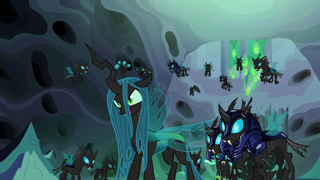 "File:Queen Chrysalis ""very clever"" S6E26.png"
