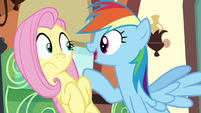 "Rainbow ""I bet Princess Celestia even comes"" S6E18"