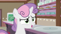 "Sweetie Belle ""another scoop would be fine!"" S7E6"
