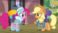 "Applejack ""you're our resident Yakyakistan expert"" S6E17"