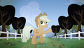 Applejack pointing to the trees S04E07.png