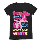 Merchandise T-Shirt Pinkie Pie does what she wants