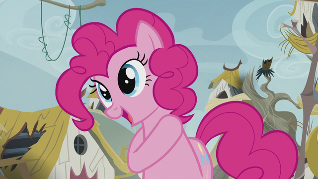 "File:Pinkie ""it's a good cheer!"" S5E8.png"