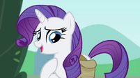 "Rarity ""as I'd hoped to do"" S4E23"