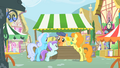 Shoeshine, Golden Harvest and a filly reading magazines S01E20.png