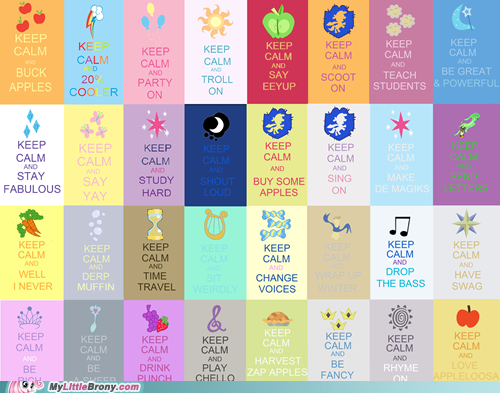 File:FANMADE cutie mark collage 'keep calm and'.png
