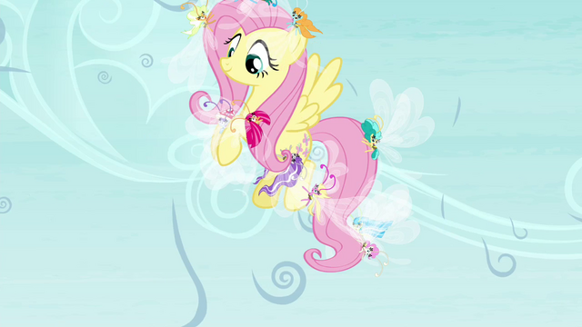 File:Fluttershy gathers Breezies together S4E16.png