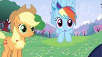 Rainbow Dash confound cuteness S2E25