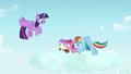Rainbow nudges fillies toward Twilight Sparkle S7E14.png