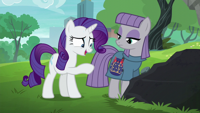 "File:Rarity ""glad to see that you like the pouch"" S6E3.png"