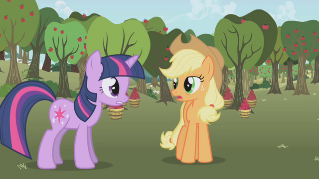 """File:Twilight and AJ """"I just did"""" S1E04.png"""