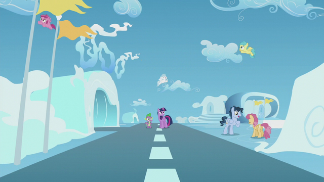 File:Twilight and Spike surrounded by Pegasi S5E25.png