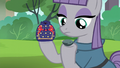 Maud holding rock pouch and Boulder S6E3.png