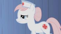 Nurse Redheart 1st appearance S1E4