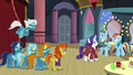 Other ponies listening to Rarity's explanation S5E15.png