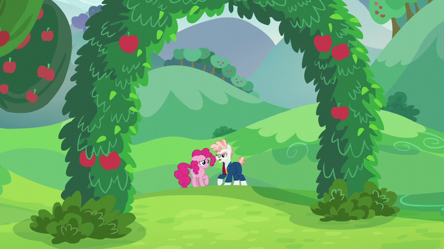File:Pinkie and Svengallop in an apple grove S5E24.png