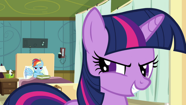 "File:Twilight calls Daring Do ""unstoppable"" S2E16.png"