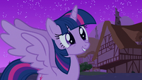 Twilight heartfelt happiness S3E13