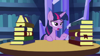 Twilight talking to Spike S5E16