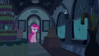 Pinkie Pie in front of door S2E24