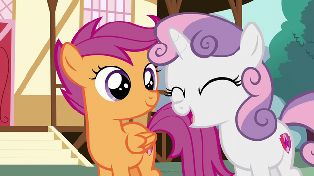 "File:Sweetie Belle ""we'll be three times as likely"" S6E4.png"