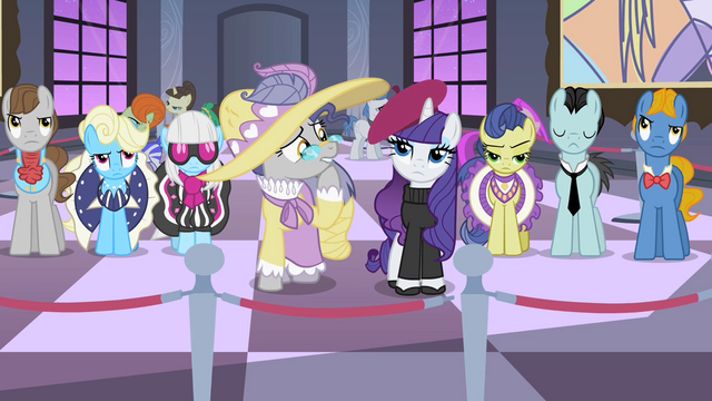 File:The ponies observe works of art S2E09.png