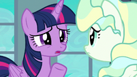 "Twilight Sparkle ""what about you?"" S6E24"