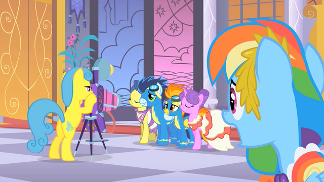File:Wonderbolts photoshoot S1E26.png