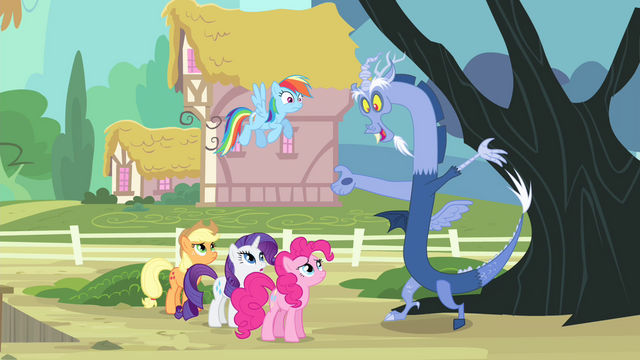 File:Discord 'you ponies can take care of me!' S4E11.png