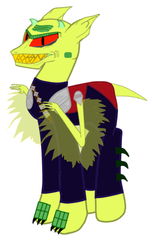 File:FANMADE Malice the Goblin Pony.png