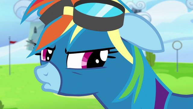 File:Rainbow Dash pouting angrily S7E7.png