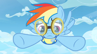 Rainbow Dash thinking S3E07