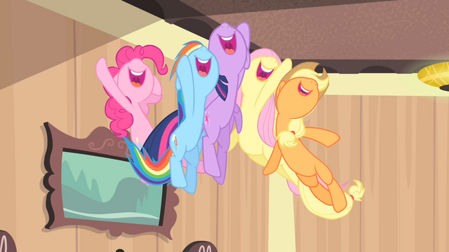 File:Rarity's friends jump up S4E08.png