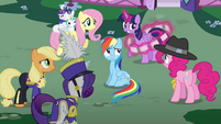 "Twilight ""Pinkie, stop rapping!"" S4E21"