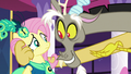 "Discord and Fluttershy ""I'm doing her a favor"" S5E7.png"