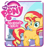 Sunset Shimmer EG website art