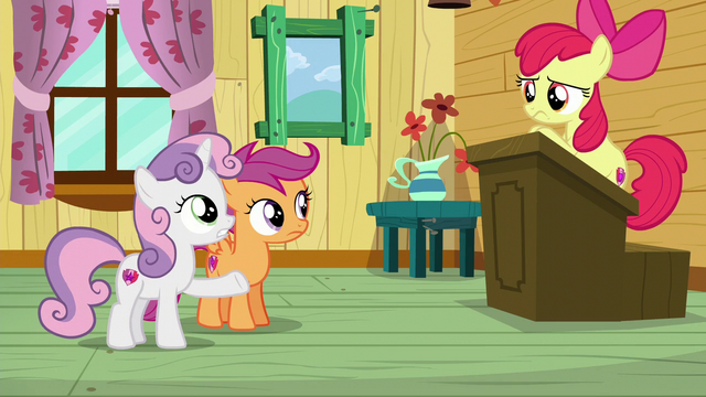 """File:Sweetie Belle """"Maybe whatever we want?"""" S6E4.png"""