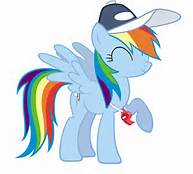 File:FANMADE Coach Rainbow Dash happy.jpg
