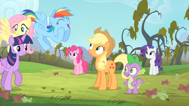 File:Rainbow 'We'll be drinking cider all winter long!' S4E07.png