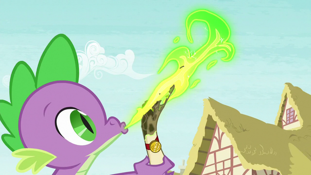 File:Spike sends a letter to Celestia S5 opening.png